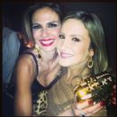 Luciana Gimenez and Claudia Leitte