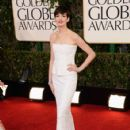 Anne Hathaway At The 70th Annual Golden Globe Awards (2013)