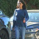 Mila Kunis – Grabs a couple of coffees in LA