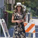 Jenna Dewan Tatum in Long Dress out in LA