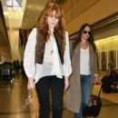 Florence Welch departing on a flight at LAX airport in Los Angeles, California on September 4, 2015 - 437 x 600
