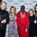 Matt Sorum, Joely Fisher, Daniel Leturesh, Donna Gadomski and Glenn Hughes attend IFAW Saving the Elephants of Amboseli at Hotel Palomar on February 17, 2015 in Los Angeles, California - 454 x 303