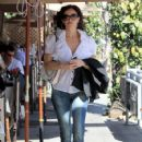 Sofia Milos Grabs Lunch in Beverly Hills - 425 x 600