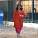 Priyanka Chopra – Filming 'Text For You' in London