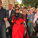Lady Gaga: walk around London's Mayfair