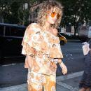 Rita Ora – Arriving at Z100 studios in New York - 454 x 714