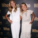 Jessica Hart poses at WHO's sexiest people party 2014 at Fox Studios on October 22, 2014 in Sydney, Australia