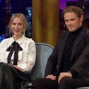 Emily Blunt and Sam Heughan At The Late Late Show with James Corden (2020) - 454 x 340