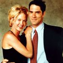 Jenna Elfman and Thomas Gibson