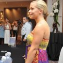 Kendra Wilkinson Signs Her Book 'Sliding Into Home' At The One Group Lifestyle Retreat 07-17-2010