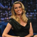 Amber Heard - 'Late Night with Jimmy Fallon' at Rockefeller Center on February 25, 2011 in New York City.