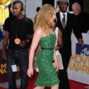 Scarlett Johansson at the 2010 MTV Movie Awards held at the Gibson Amphitheatre at Universal Studios on June 6, 2010 in Universal City, California