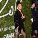 Rihanna attends the British Fashion Awards at London Coliseum on December 1, 2014 in London, England