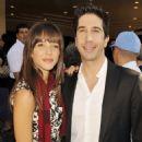 David Schwimmer and Zoe Buckman - 454 x 581