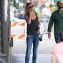 Emily VanCamp in Jeans out in New York City - August 23, 2016 - 454 x 588