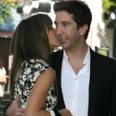 David Schwimmer and Zoe Buckman - 412 x 594