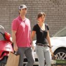David Schwimmer and Zoe Buckman - 349 x 525