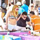 Bella Thorne in Bikini Top at Venice Beach - 454 x 540