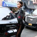 Chantel Jeffries Leaves Lower East Side Hotel in New York City - 454 x 698