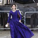 Jenna Louise Coleman Filming the ITV drama 'Victoria' in Hartlepool - 454 x 539