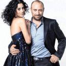 Cansu Dere and Halit Ergenç