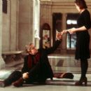 Michael Douglas as Grady Tripp and Frances McDormand as Sara Gaskell in Paramount's Wonder Boys - 2/2000 - 400 x 265