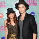 Spencer Boldman and Debby Ryan - 386 x 583