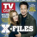 Gillian Anderson and David Duchovny - TV Guide Magazine Cover [United States] (24 December 2012)