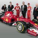 Ferrari unveil 2015 car which will be driven by Sebastian Vettel and Kimi Raikkonen - 454 x 264