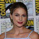 Melissa Benoist – 'Supergirl' Press Line at Comic-Con 2016 in San Diego - 454 x 561