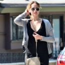 Jennifer Lawrence leaving a photo Shoot in Hollywood Hills (August 7)