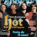 Red Hot Chili Peppers - Capricho Magazine Cover [Brazil] (19 March 2006)