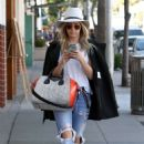 Ashley Tisdale Out and About In Beverly Hills