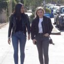 Chloe Moretz in Jeans – Out with a friend in LA - 454 x 577