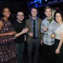 (L-R) Sasheer Zamata, Eliot Glazer, Michael Torpey, David Rooklin, and Ilana Glazer attend