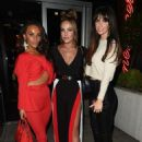 Stephanie Davis Jennifer Metcalfe and Chelsee Healey at Menagerie Restaurant in Manchester - 454 x 637