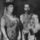 Queen Mary and King George V - 454 x 666
