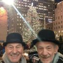 Patrick Stewart & good friend Ian McKellen - 454 x 605