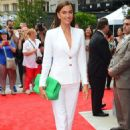 Irina Shayk Arrives To The Porcelanosas Store In New York