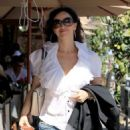 Sofia Milos Grabs Lunch in Beverly Hills