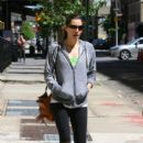 Jessica Biel Gets Brunch in New York