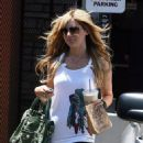 Ashley Tisdale Out And About In Hollywood 2008-07-01