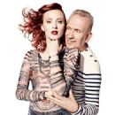 Karen Elson for Jean Paul Gaultier For Lindex Fall/Winter 2014 Ad Campaign - 454 x 628