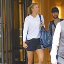 Maria Sharapova – Head to tennis practice in New York City