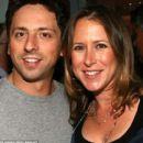 Sergey Brin and Anne Wojcicki - 454 x 399