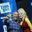 Dolly Parton Answers Questions During SiriusXM's Town Hall Series Hosted By Andy Cohen At Dollywood in the Dollywood Dreamsong Theatre on May 6, 2016 in Pigeon Forge, Tennessee