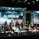 Monet Mazur – 'All American' Panel at 2018 TCA Summer Press Tour in Los Angeles - 454 x 303