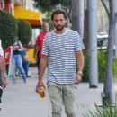 Scott Disick is seen out and about on October 13, 2016