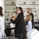 Angelina Jolie shoping in Beverly Hills, Los Angeles (April 03, 2015)