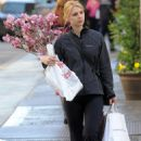 Claire Danes Visits A Liquor Store & Buys Flowers On Her 31 Birthday In SoHo, April 12 2010